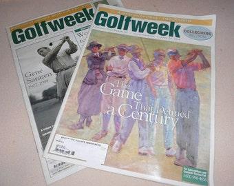 Golfweek Vintage Magazines