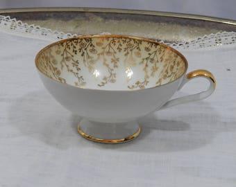 Vintage 1920s,RWK ,Teacup ,Made in Bavaria, Germany,  Rudolf ,Wächter, Kirchenlamitz ,Porzellanmanufaktur