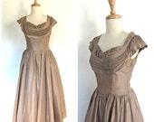 1950s Taffeta Party Dress...