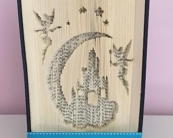 Disney fairy origami folded book