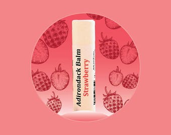 Adirondack Strawberry Lip Balm