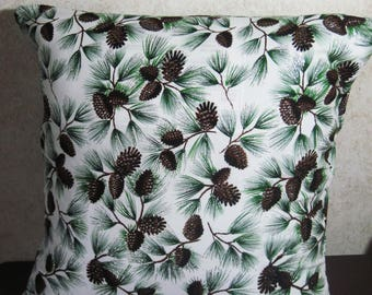 Pinecone Envelope Pillow Cover 16x16