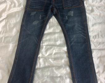 Chic and modern Navy pants blue jean color BILLABONG T30 T (en) 40 mens