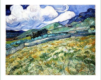 fabric panel - Vincent van Gogh (6). For sewing, patchwork, quilting.