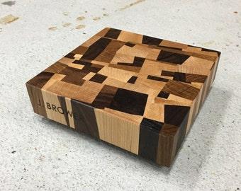 Mini Mosaic Endgrain Cutting Board