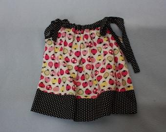 Ladybug First Birthday Pillowcase Dress