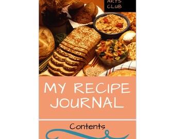 My Recipe Journal (Printable)