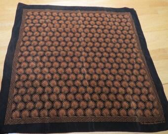Vintage Small  Silk Scarf  21 x 21  #155