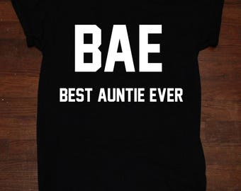 Best Auntie Ever Aunt Shirt Gift T shirt Tumblr