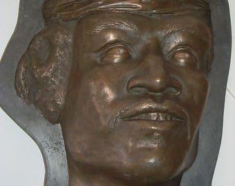 Jimi Hendrix Sculpture