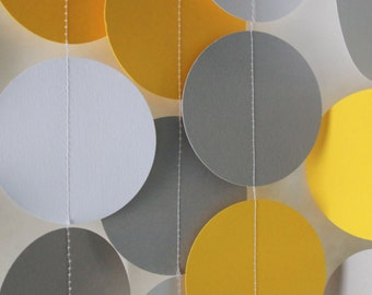 Paper Garland- Party and Event Decor, Baby Shower Decoration, Birthday Decoration
