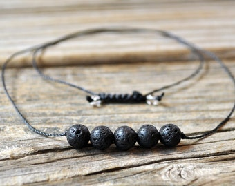 Diffuser Necklace, Aromatherapy Diffuser, Beaded Diffuser, Essential Oil Diffuser Necklace, Yoga Necklace, Meditation Necklace, Healing
