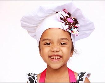 Kinder Chef Hut warf Cupcakes