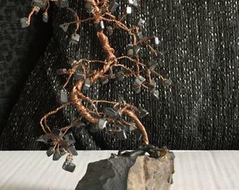 Hematite Gemstone Tree
