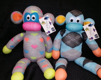 Custom Handmade Sock Monkey