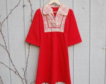 SALE! 1960s 1970s mexican mini dress
