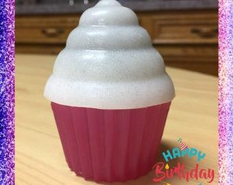 1 Birthday Cupcake soap