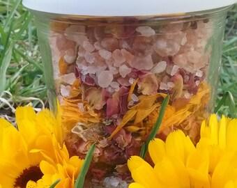 Bath Tea - Herbal Bath Tea - Floral Bath - Queen of the bath Scene