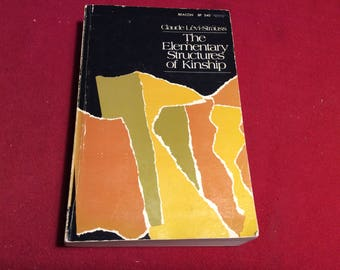 The Elementary Structures of Kinship, 1969 Edition