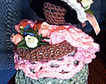 Crochet Doll Pattern, Mother Spring