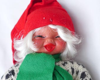 Boy or Girl? Gnome by Arne Hasle Norway, Vintage Nisse Elf Troll Gnome Goblin, Signed