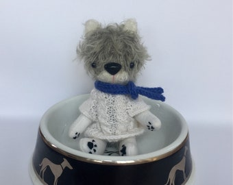 Mohair puppy- Puppy doll