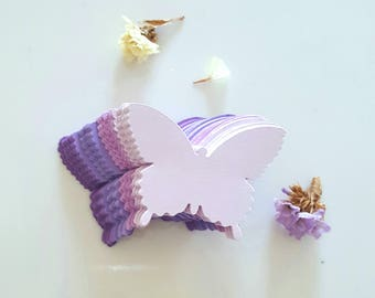 Pick your colors/Butterfly die cuts/Purple Butterfly Cut outs/Butterfly Cut outs,Wedding Decor,Paper butterflies,Spring decor,butterfly