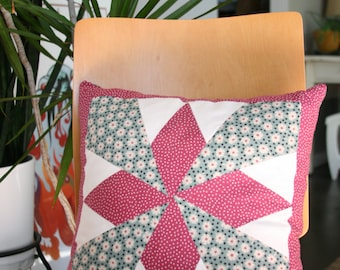 """Star Pillow- Kapok Pillow Form Included 13""""X13"""""""