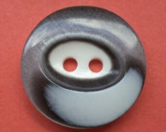10 buttons grey 15mm 18mm (2598 2492) button