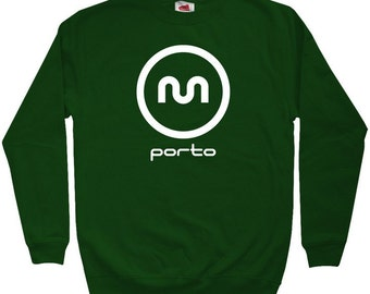 Porto Metro Sweatshirt - Men S M L XL 2x 3x - Crewneck Porto Portugal Shirt - 4 Colors