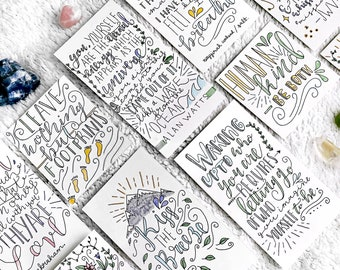 Custom Hand-lettered Quote/Lyric/Poem/Phrase | Plantful | Calligraphy, Lettering, Typography, Design