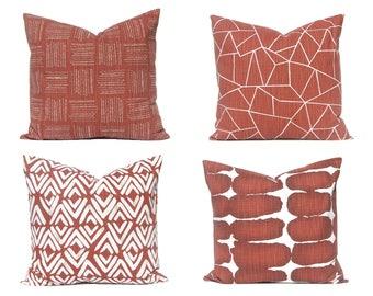 Sofa Kissenbezüge - Rost Kissen - Kissen-Abdeckungen - Rost-Home Decor - Couch Kissen-Abdeckungen - Kissenbezüge - Entwerfer Kissen