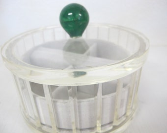 Lucite Jewelry Box Modern Lucite Box Boudoir Box Lucite Vanity