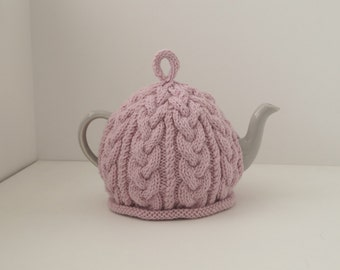 Knitted Tea Cosy Powder Pink - BAILEY