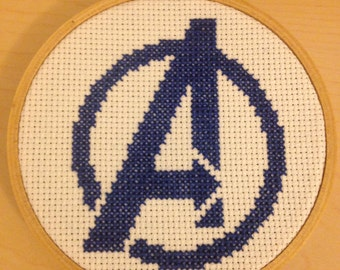 Avengers Cross Stitch