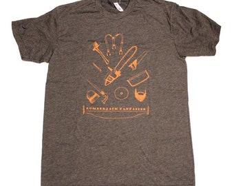 Men's T-Shirt - Lumberjack Fantasies
