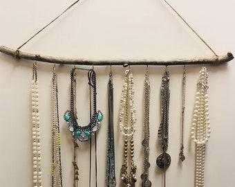Boho Jewelry Wall Display