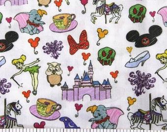 disney mixed fabric