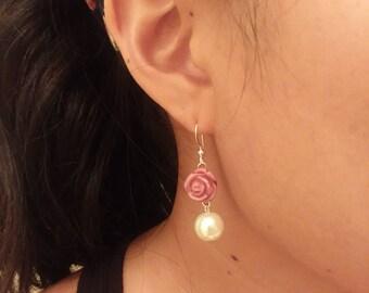 Rose Love earrings