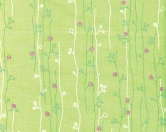 Wildwood - Sprout - Green by Erin McMorris for Free Spirit Fabrics 4051