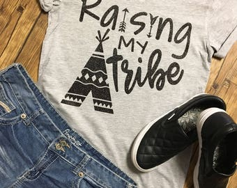Raising My Tribe Teepee 2