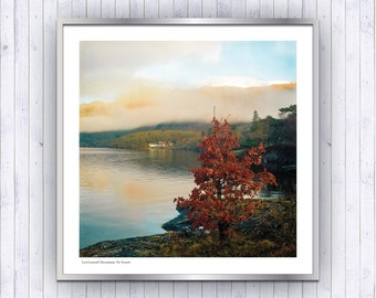 Loch Lomond Winter, Scotland Highlands Fine Art Landscape Print