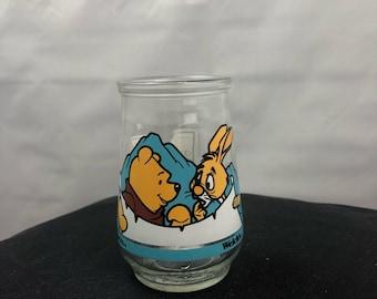 Vintage Winnie the Pooh welchs jar #5