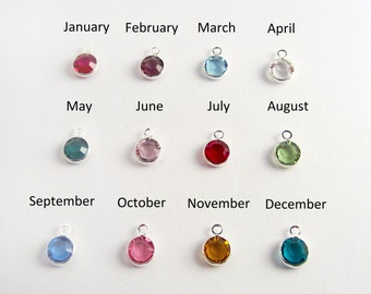 Swarovski Birthstone Bead - Add a Birthstone