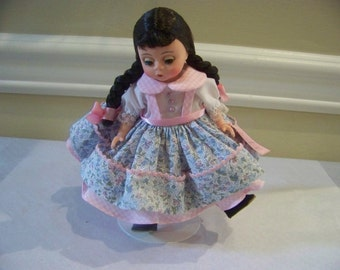 Wendy loves the County Fair madame Alexander 8 inch doll