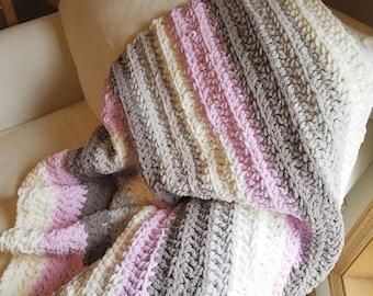 Baby girl blanket