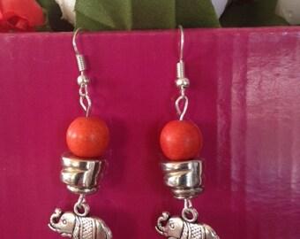 Elephant, Earrings, Jewellery, jewelry,