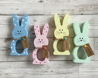Personalised Easter Bunny Chocolate Egg Holder, Easter Gift