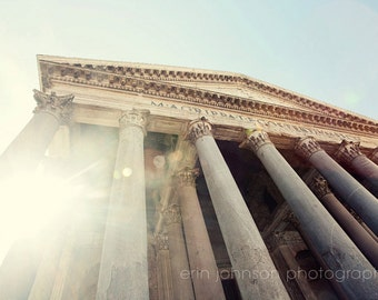 rome photography, italy photography, europe, architecture, travel photography, roman temple, mythology, The Pantheon R02