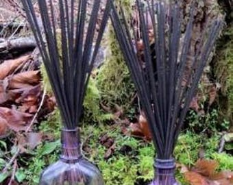 Lavender Mint Fresh Hand Dipped Charcoal Incense 20 Sticks Home Fragrance Handmade Gift